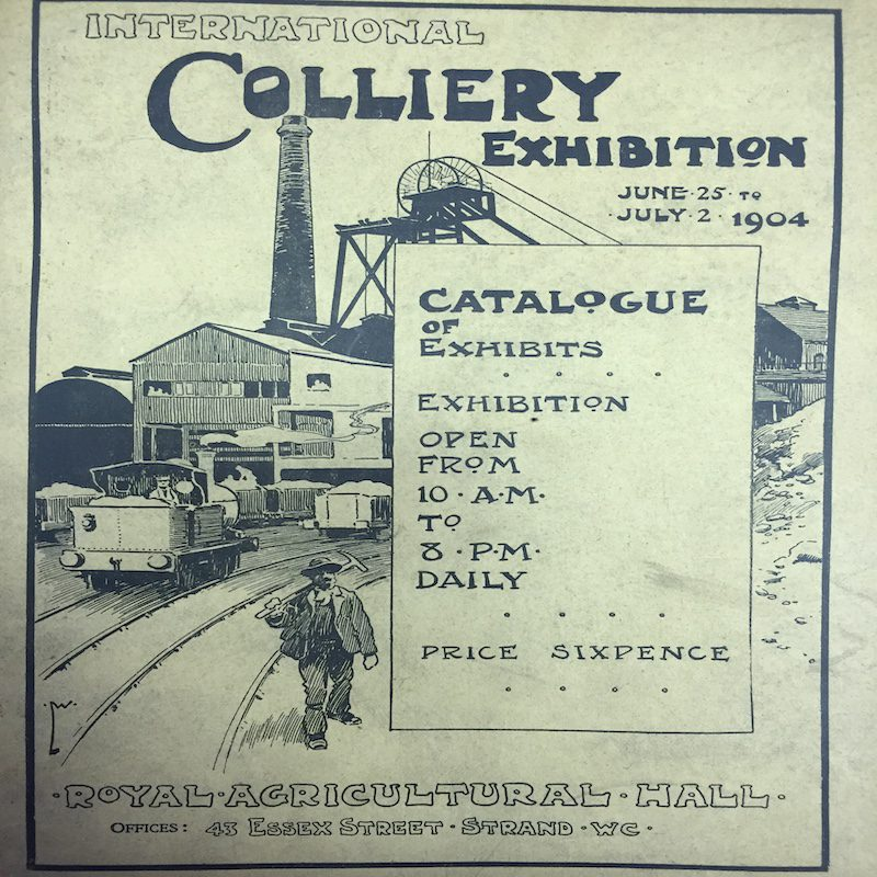 1904 International Colliery Exhibition Catalogue
