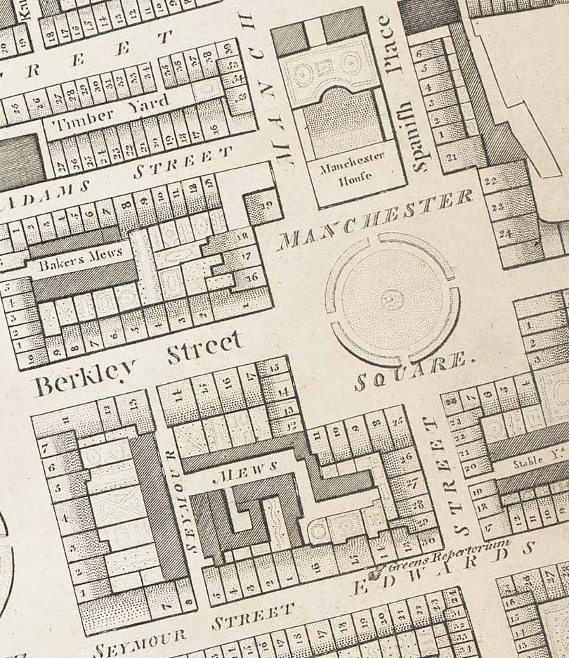 Manchester Square 1799